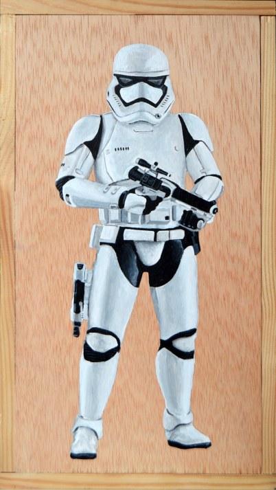 First Order Stormtrooper (Squad Leader) V DISPONIBLE